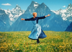 "The hills are alive with ""The Sound of Music,"" starring Julie Andrews."