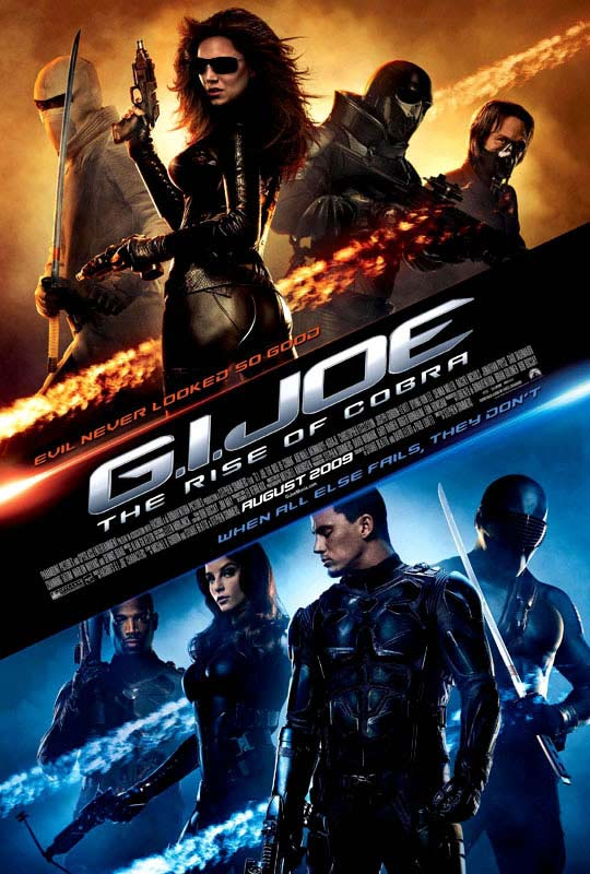 G.I. Joe: the Rise of Cobra / Running time: 1 hour 58 minutes / Rated PG-13