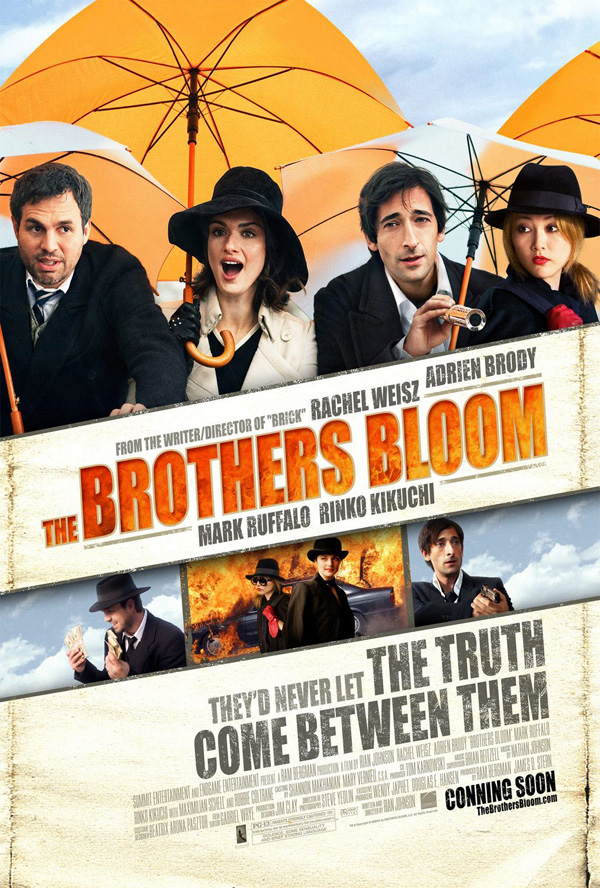 The Brothers Bloom / 1 hour 49 minutes / Rated PG-13